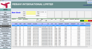ERP FOR MANUFACTURING UNIT