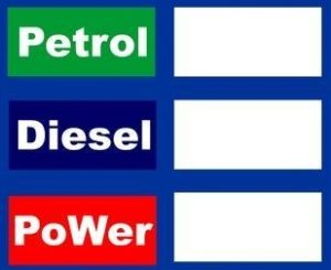 PETROL PUMP RATE DISPLAY